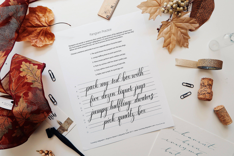 Pointed Pen Modern Calligraphy Starter Kit From