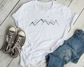 Land Rover Unisex T-Shirt | Mountain Climber | Outdoor | Defender | Hue 166 | Overland | Graphic Tee | Mens | Womens | Clothing