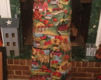 Holidays fall apron