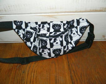 Cats and Dogs Fanny Pack - Hip Bag - Children thru Adult Sizes