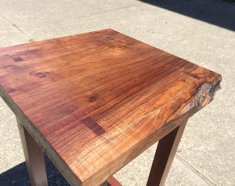 Walnut Entryway Table