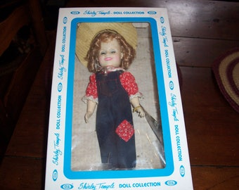 1982 Shirley Temple Doll Collection...Rebecca of Sunnybrook Farm...12 Inch Dolls from Ideal..Character Dolls