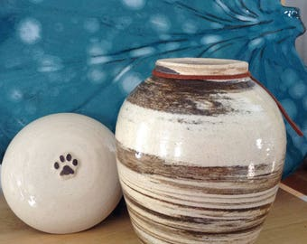 Dog Urn Cremation Urn for Pet Up to 80 lbs