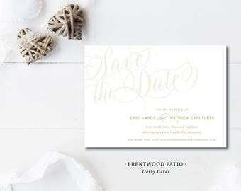 Brentwood Patio Save the Dates