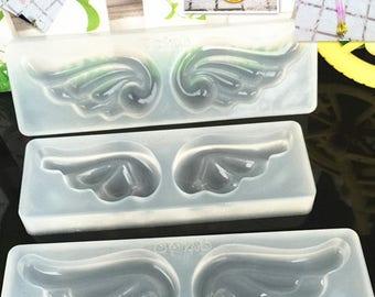 1 pcs Magic wings Silicone mold, Silicone mold, Magic wand wings mold,  candle  mold