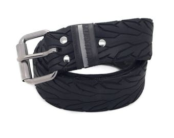 """Bicycle Tire Belt """"RUBENA 40mm"""" (upcycled vegan handmade) by tirebelt.com - Fall Collection 2016"""