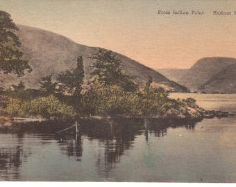 Vintage Postcard...New York, Hudson River, From Indian Point...Unused...no. NY0012