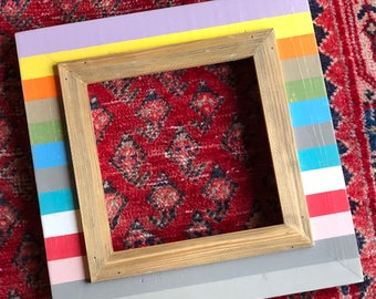Handmade 8x8 Picture Frame