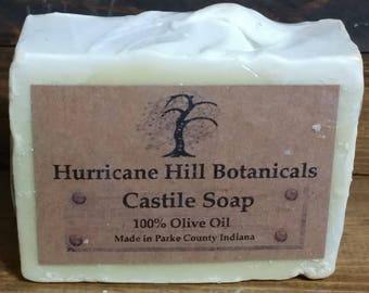 Castile Soap 100% Olive oil-Real Castile Soap