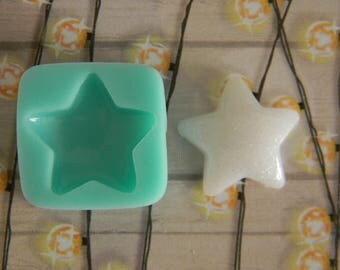 Flexible Mold - Puffy Star #2