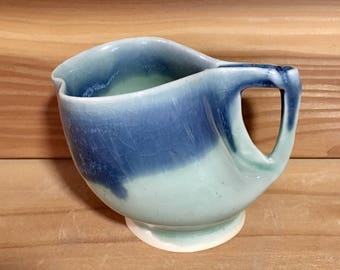 Holy Qeengish Blue Porcelain Mug