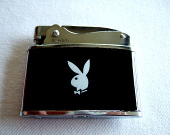 Collectible Vintage Playboy Bunny Cigarette Lighter Elegant Classy Memorabilia Cool Gifts for Him Father's Day Gift Unique Gift for Her