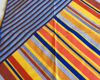 4 Vintage Vera Neumann Geometric Napkins