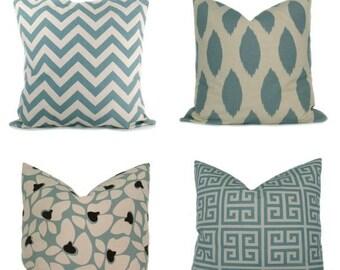 15% Off Sale BLUE PILLOWS, Decorative pillow covers,  Blue Pillow - Pillows - Accent Pillow ,Decorative Pillows Blue Cushion -Decorative pil