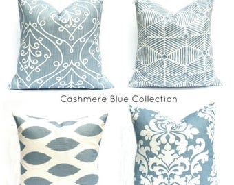 15% Off Sale Euro Pillow, Euro Pillow Cover,  Blue Euro Pillow, Decorative Pillow, Throw Pillow Cover, Pillows, Couch Pillow, Accent Pillow,