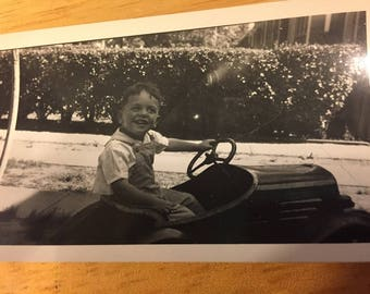 Hey, Baby - Want a Ride? 1944 Black and White Photo