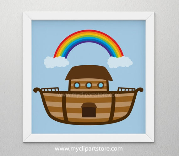 clipart noah s ark bible stories ship boat single image rh catchmyparty com noah's ark baby shower clipart Noah's Ark Black and White