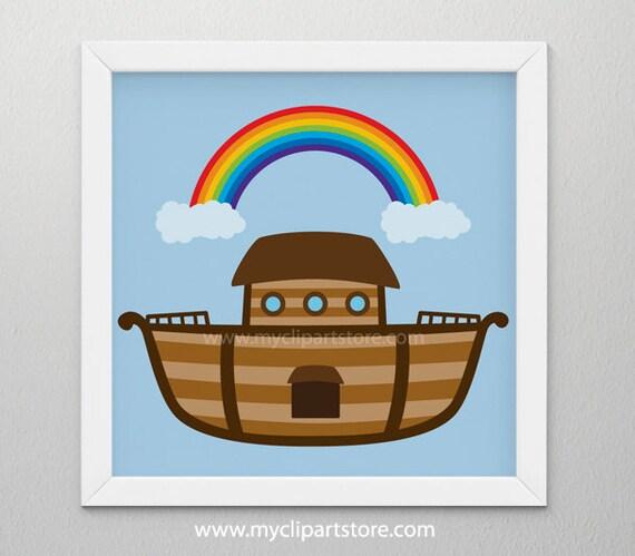clipart noah s ark bible stories ship boat single image rh catchmyparty com Real Pictures Noah Ark Noah's Ark Cartoon