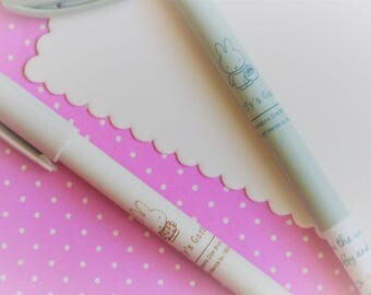 2 Piece Kawaii Gel Ink Rollerball Pen 0.38mm