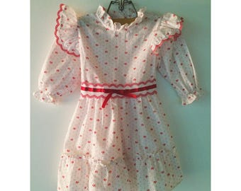 Sweet Vintage New York Kids Dress with Ruffles size 2T