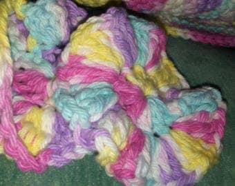 Crochet Facial Scrubber