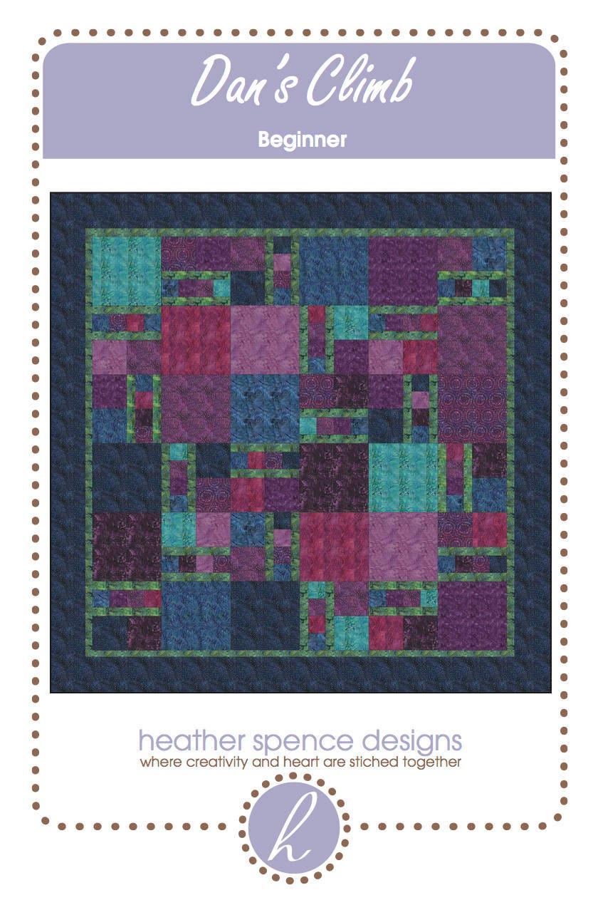 Modern Quilt Beginner Pattern Dans Climb