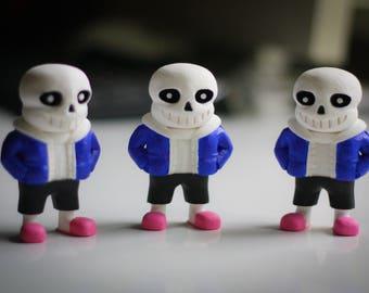 Undertale | Sans the Skeleton  | Undertale Sans | Undertale game character collectible figurine | Undertale Character