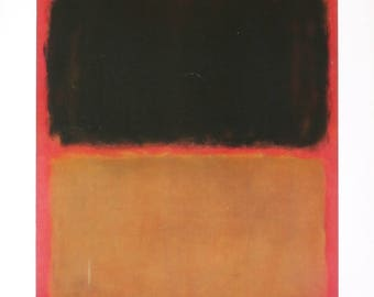 Mark Rothko-Highlights-1972 Poster