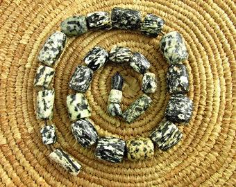 Antique Granite (Gneiss) Beads