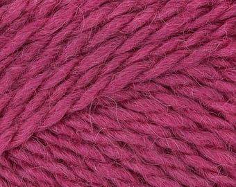 Raspberry Masham DK 100% British Breed Superwash Wool Yarn King Cole 50g