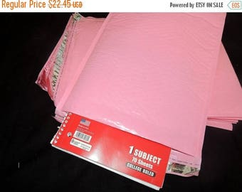 On Sale 30 Large Pastel Pink  Bubble Mailers, Size-5 Padded Self Adhesive Padded Mailer Envelopes 10.5x15.5