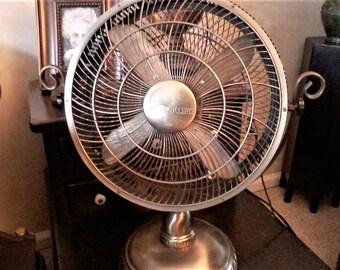 Gold Electric Fan