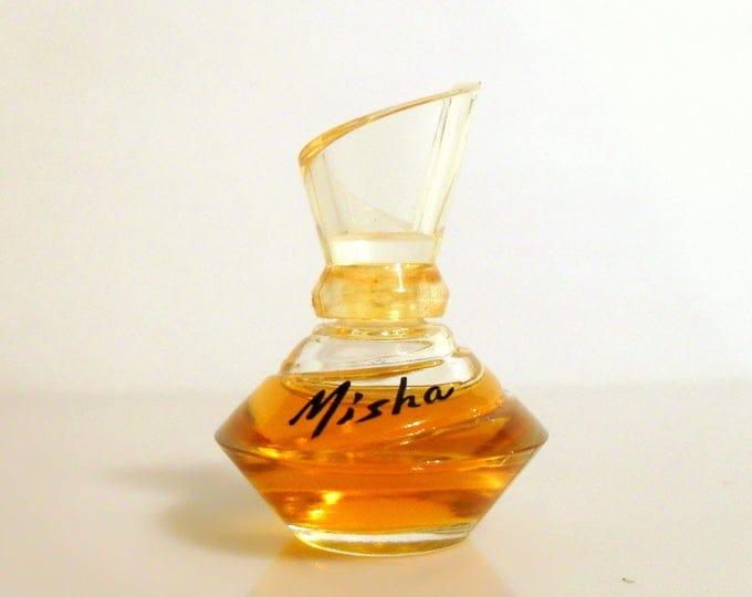 Vintage 1990s Misha by Mikhail Baryshnikov 0.125 oz Parfum Miniature Mini Bottle  PERFUME