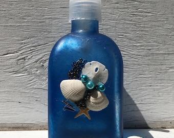 Seashell Soap and Lotion Pump Seashell Soap Pump, Beach Bathroom, Coastal Bathroom, Bridal Shower Gift, Unique Gift, Hostess Gift