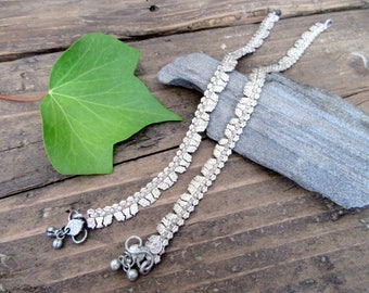 The astounding India Silver Anklets.
