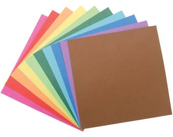 Solid Origami Paper by Folia 6 in. by 6 in. 500 per pkg