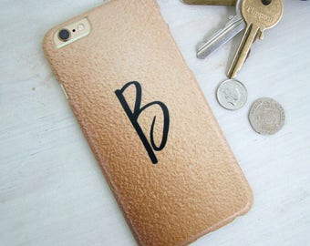 Copper Print Phone Case Personalised