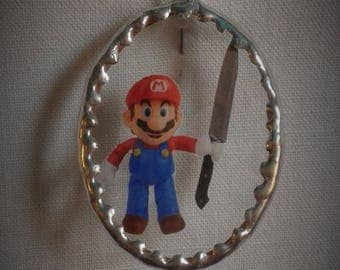 Glass frame - Mario is not happy