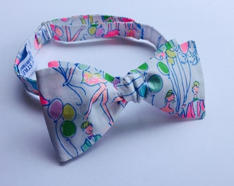 Lilly Pulitzer POP Fabric Bow Tie