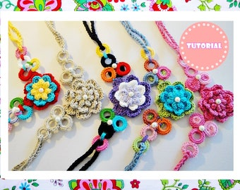 Wonderful and Simple Crochet Necklace  Pattern