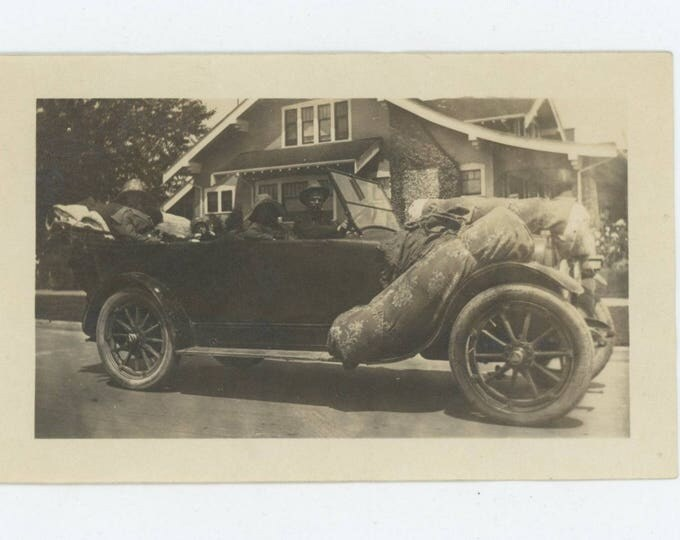 Moving Day[Or Disposing of Bodies!]: Vintage Snapshot Photo, c1920s [82654]