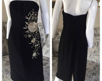 LAFAYETTE 148 NEW YORK Embroidered Dress Size: 4
