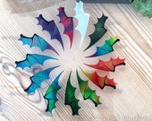 Dragon wings set for crafting,diy dragon crafts, transparent Iridescent wings, many colours available. Handmade Crafting supplies