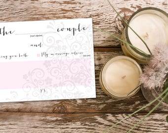 Wedding Advice Cards, download