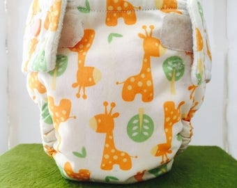 Cloth Diaper (with or without pocket) Snaps-MED/LRG