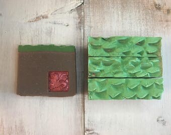 Dragon's Blood- Organic Gourmet Soap LIMITED EDITION