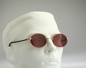 Façonnable FJ 522 Col 733 Hand Made in France  / Vintage sunglasses / NOS / 90s rare and unique