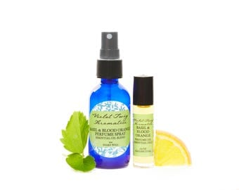 Men's Cologne - Basil Cologne - Organic Cologne - Men's Basil Cologne - Rollerball Oil - Cologne Spray - Essential Oil Cologne - Men's Gift