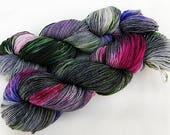 Handdyed SockYarn, 75 Wool, 25 Nylon 100g 3.5 oz. Nr. 762