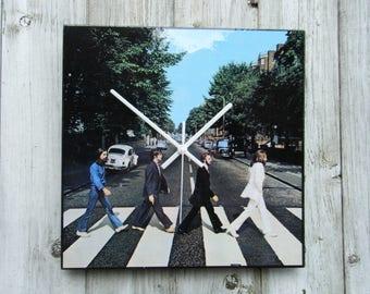 Abbey Road album cover clock